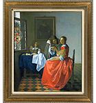 フェルメール「ワイングラスを持つ娘」