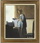 フェルメール 「手紙を読む青衣の女」