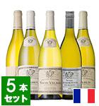 <EPA発効記念> ブルゴーニュ名門ワイナリー「ルイ・ジャド」大人気白ワイン5本セット(NL)