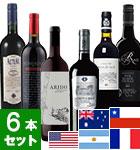 夏のプレミアムワインバスケット 赤ワイン6本セット(VY)