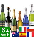 9月のワインバスケット スパークリングワイン6本セット (VY)