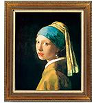 フェルメール 「青いターバンの少女」