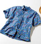 米国製 フラガール柄 アロハシャツ