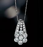 プラチナ ダイヤ 計1.0ctネックレス