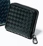 ボッテガヴェネタ ラウンドファスナー 二つ折財布(510293-V4651)