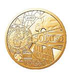 ノートルダム大聖堂再建金貨 50ユーロ金貨